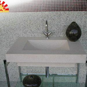 masif-bej-konsol-lavabo