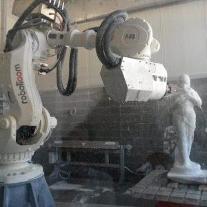 robot mermer işleme